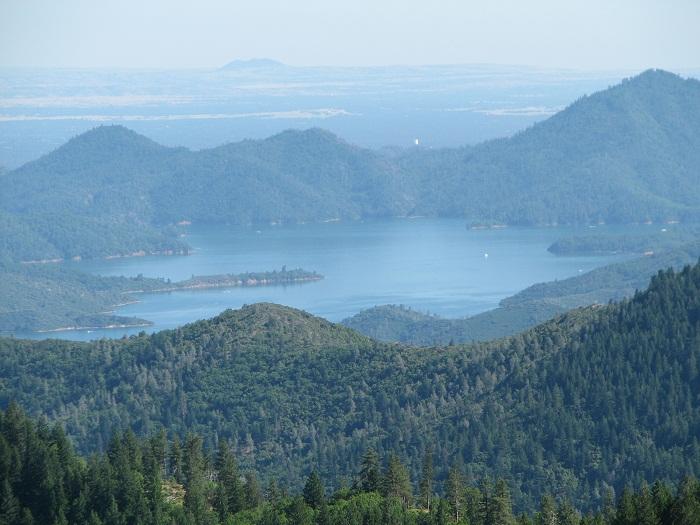 Lake Shasta, Sacramento Valley, Marysville Buttes