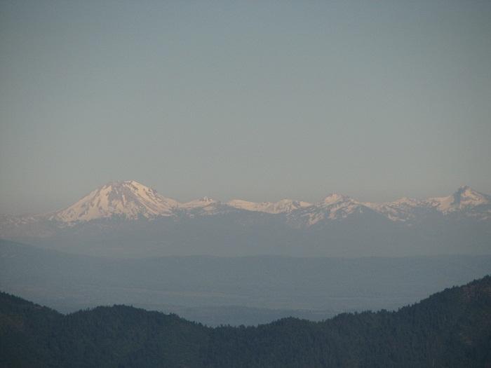 Mt Lassen during Annular Eclipse