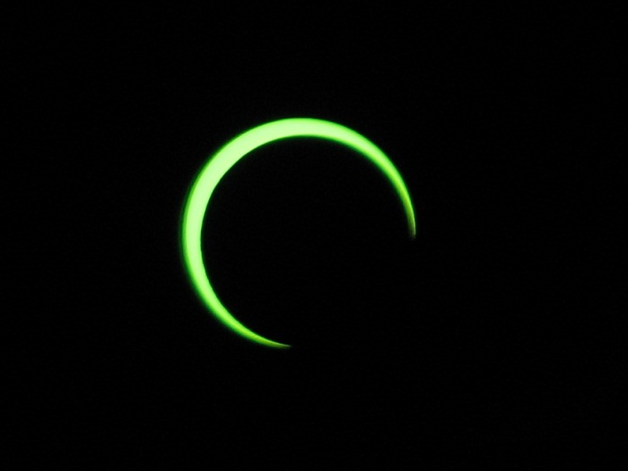 Annular Eclipse, almost maximum