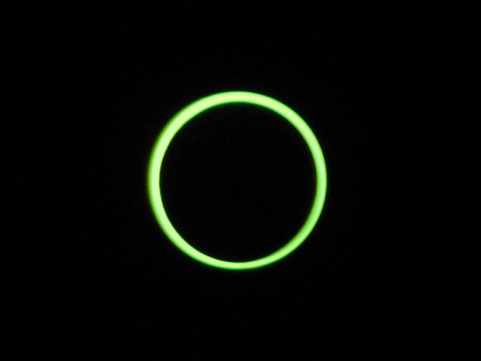 Maximum eclipse annularity