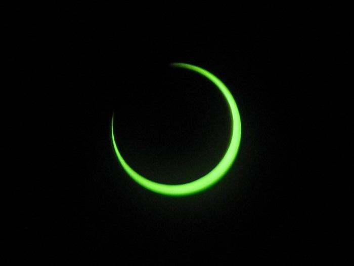 Annular Eclipse past maximum