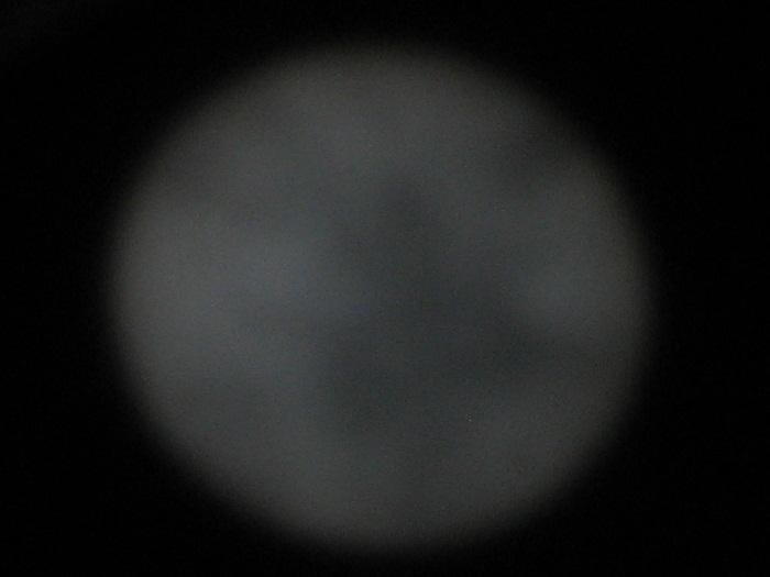 Transit of Venus pinhole cloudy